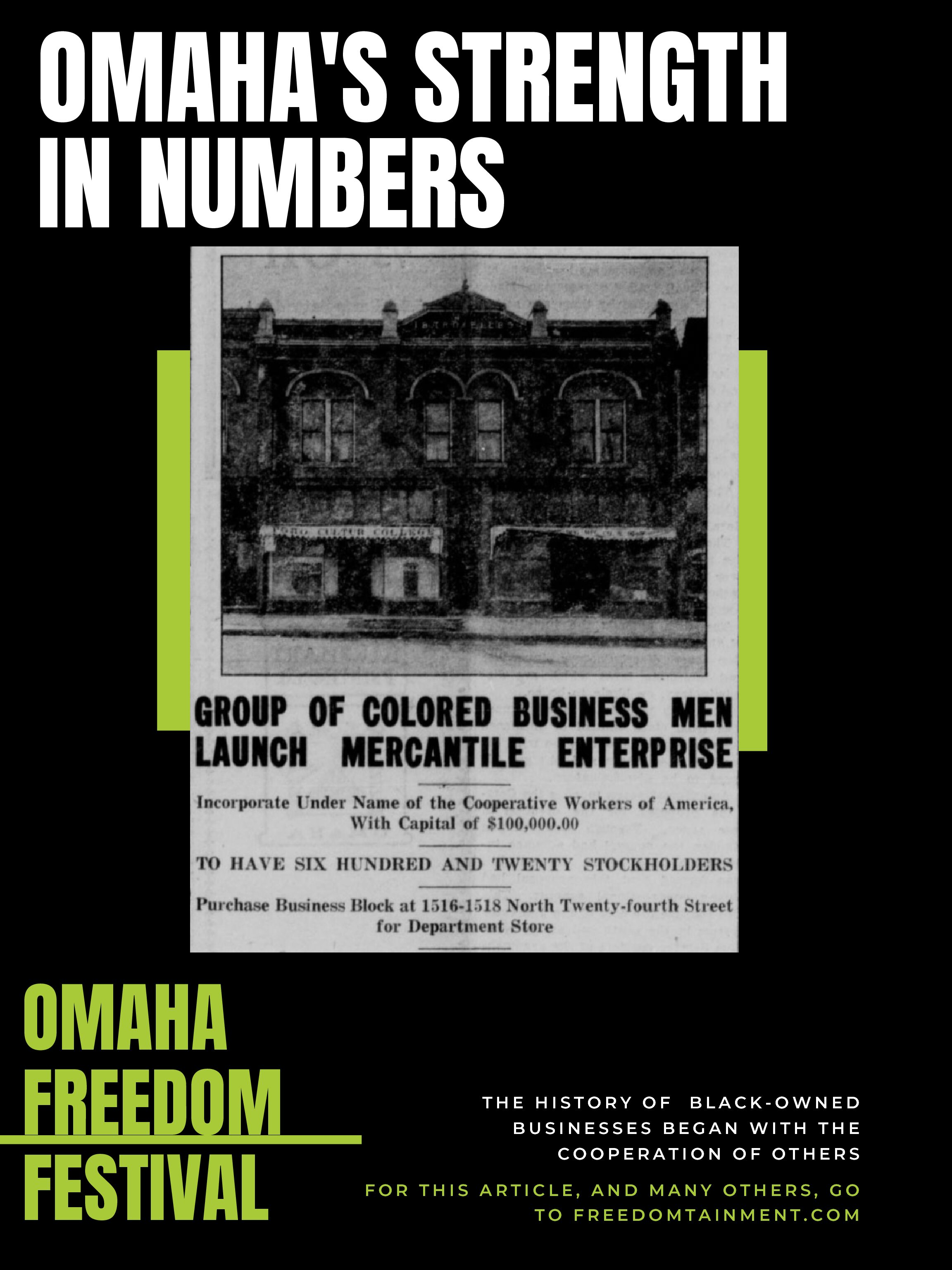 Omaha's Strength in Numbers