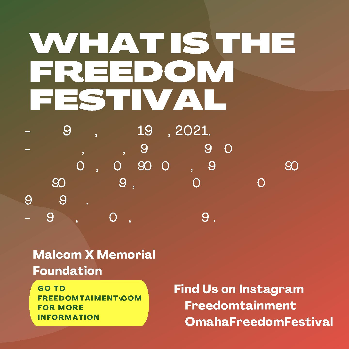 Omaha Freedom Festival: Where Culture, History, and Celebration All Meet.